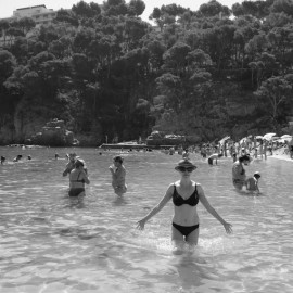 Costa Brava in Black and White