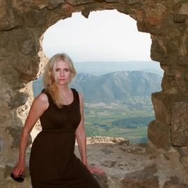 The Castle of Queribus- Cucugnan, France