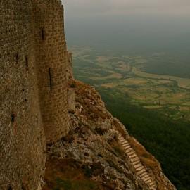 The Castle of Peyrepertuse—Duilhac, France