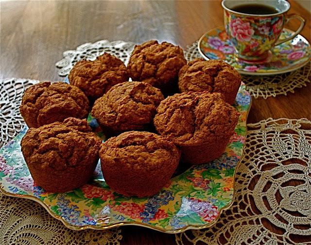 Pumpkin Spiced Spelt Muffins