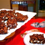 Chewy Chocolate Puff Squares (gluten free)