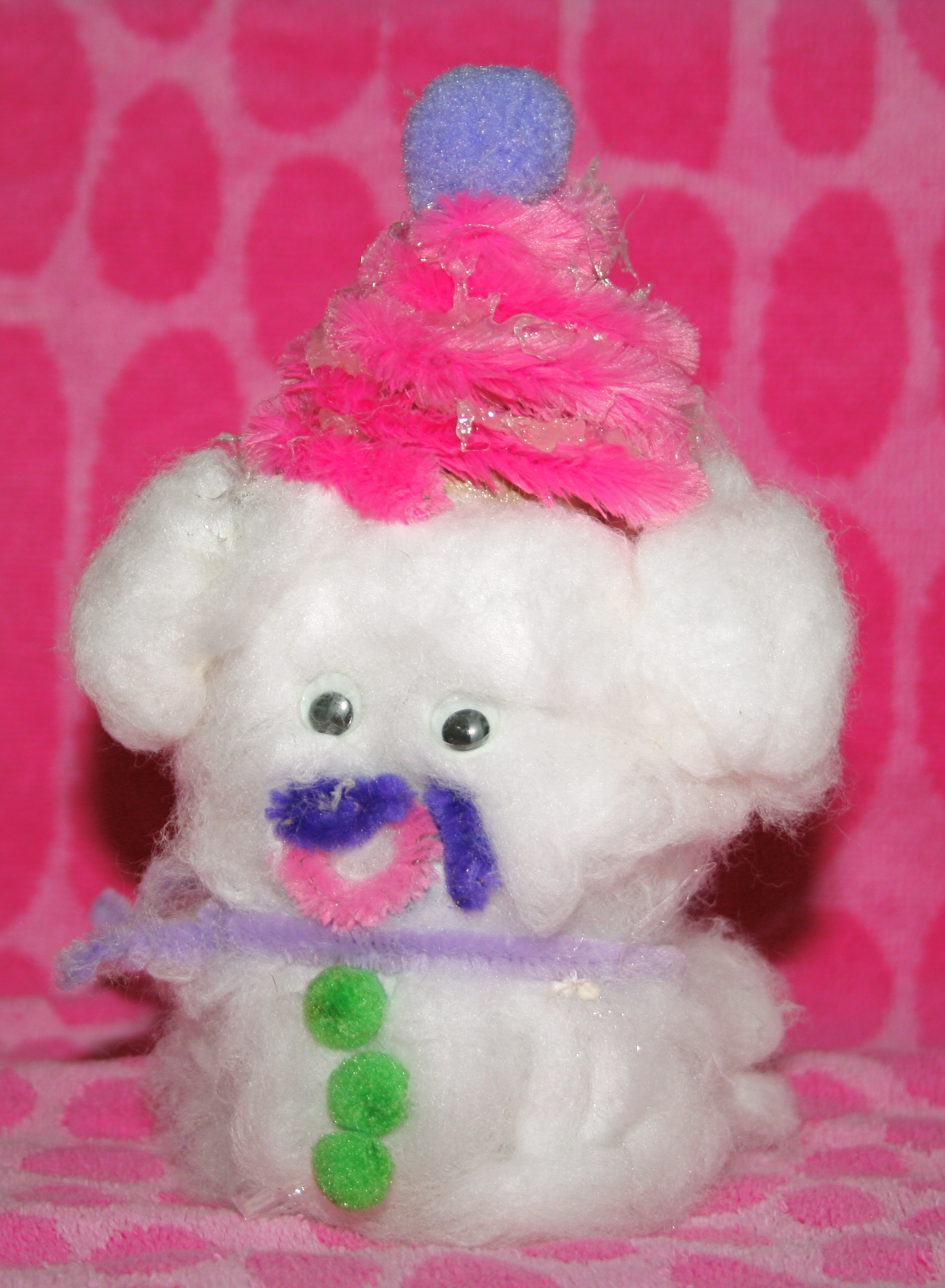 Sammy the Snow Puppy Craft