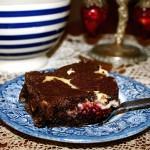 Raspberry Cheesecake Chocolate Brownies