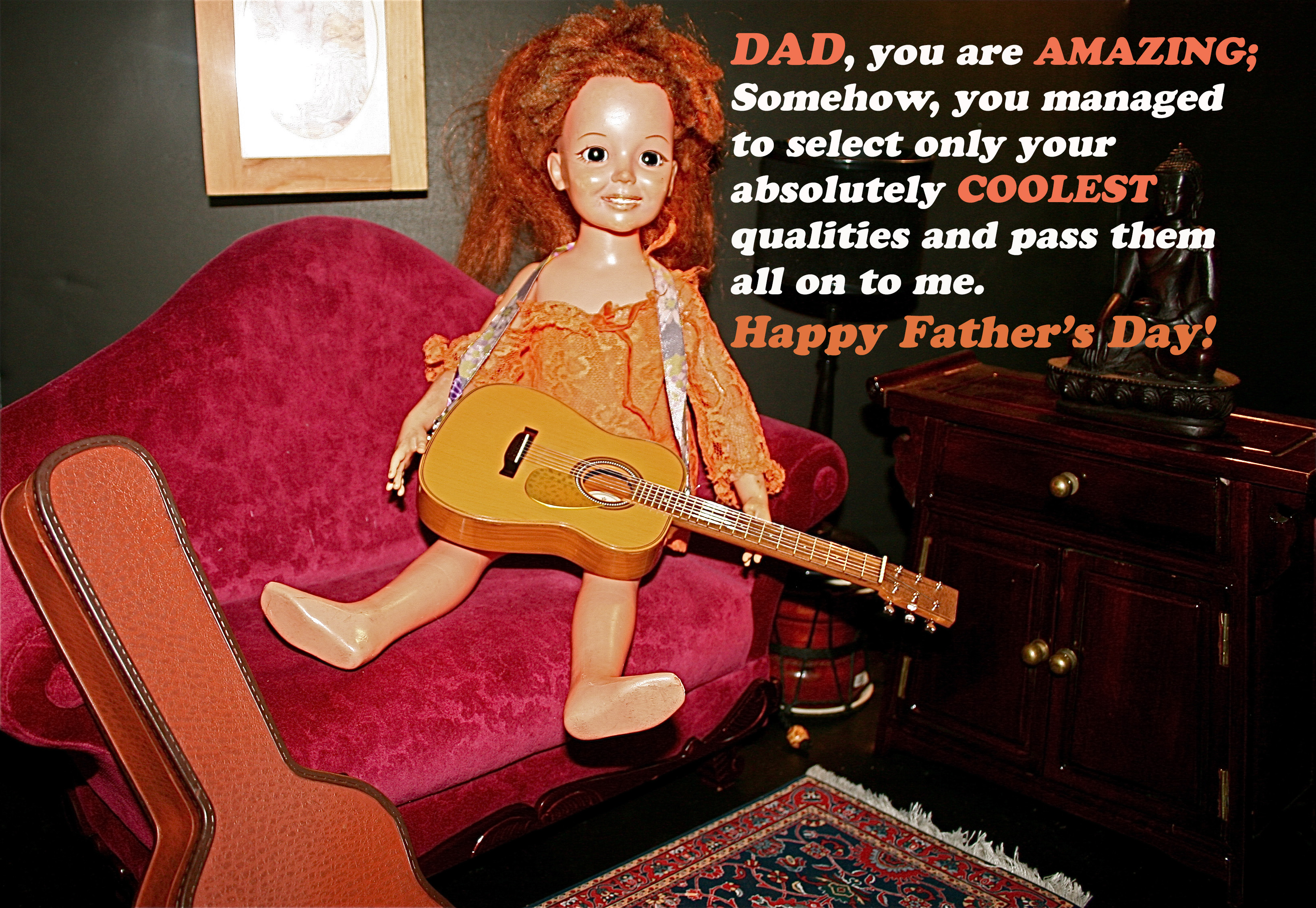 Truths By Crissy: Father, You're Fab!
