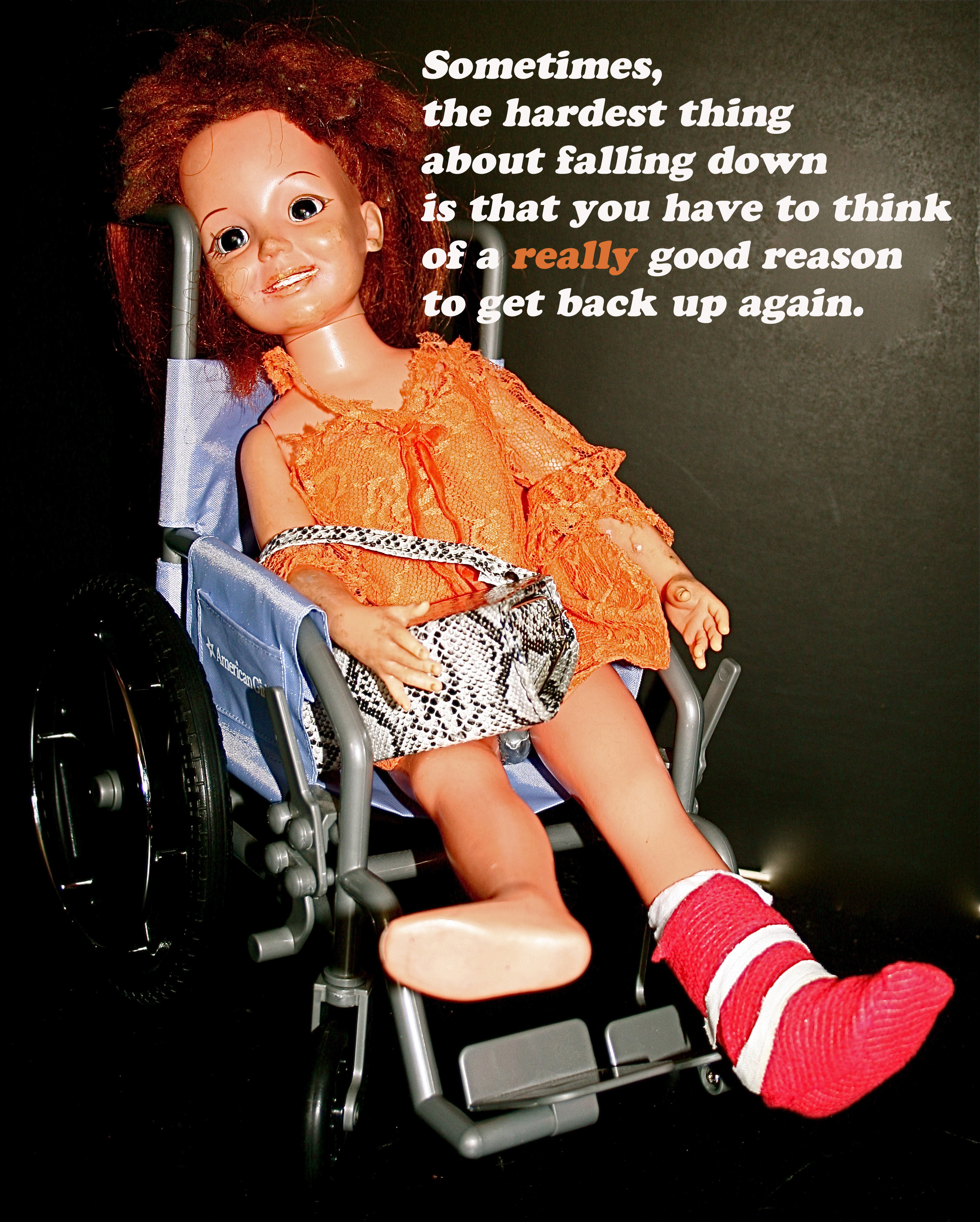 Truths By Crissy: Falling Down
