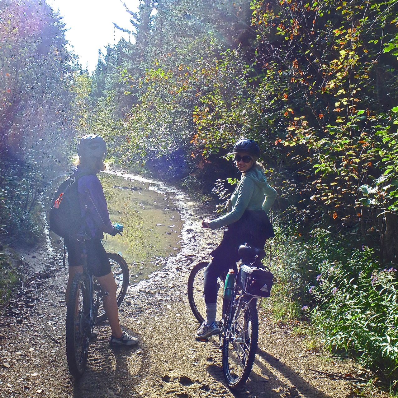 Mountain Biking Through The Monashees On The Kettle Valley Railway