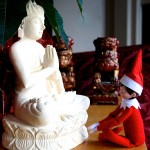 Elf On the Shelf Turns Zen