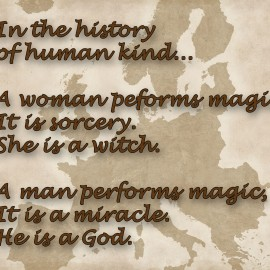 Witches & Gods, International Women's Day 2014