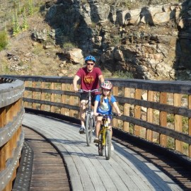 Cycling Kettle Valley Railway With Kids