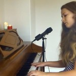 Say Something Cover Song by Tabby Cat (age 14)