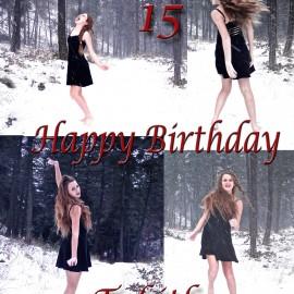 Happy 15th Birthday Tabitha!