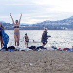 Okanagan Lake Dip Challenge New Year Finale!