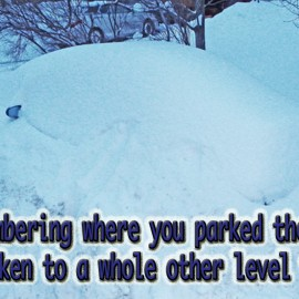 Parking the Car in Winter