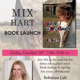 Queen Of The Godforsaken Book Launch!