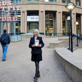 Queen Book Tour Reading @ Vancouver Public Library