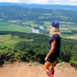 Enderby Cliffs Hike