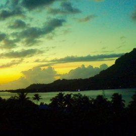 At Home in Bora Bora