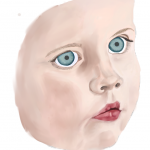 Painting a Portrait of My Daughter